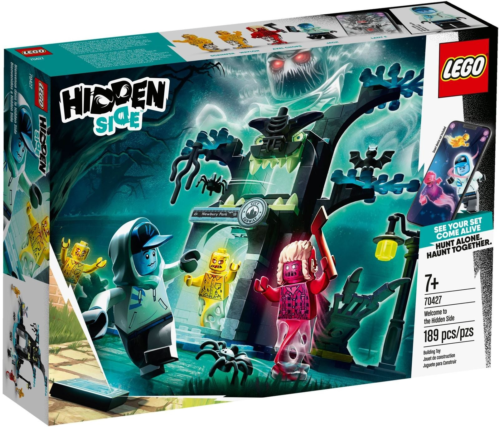 LEGO Hidden Side: Welcome to the Hidden Side - (70427)