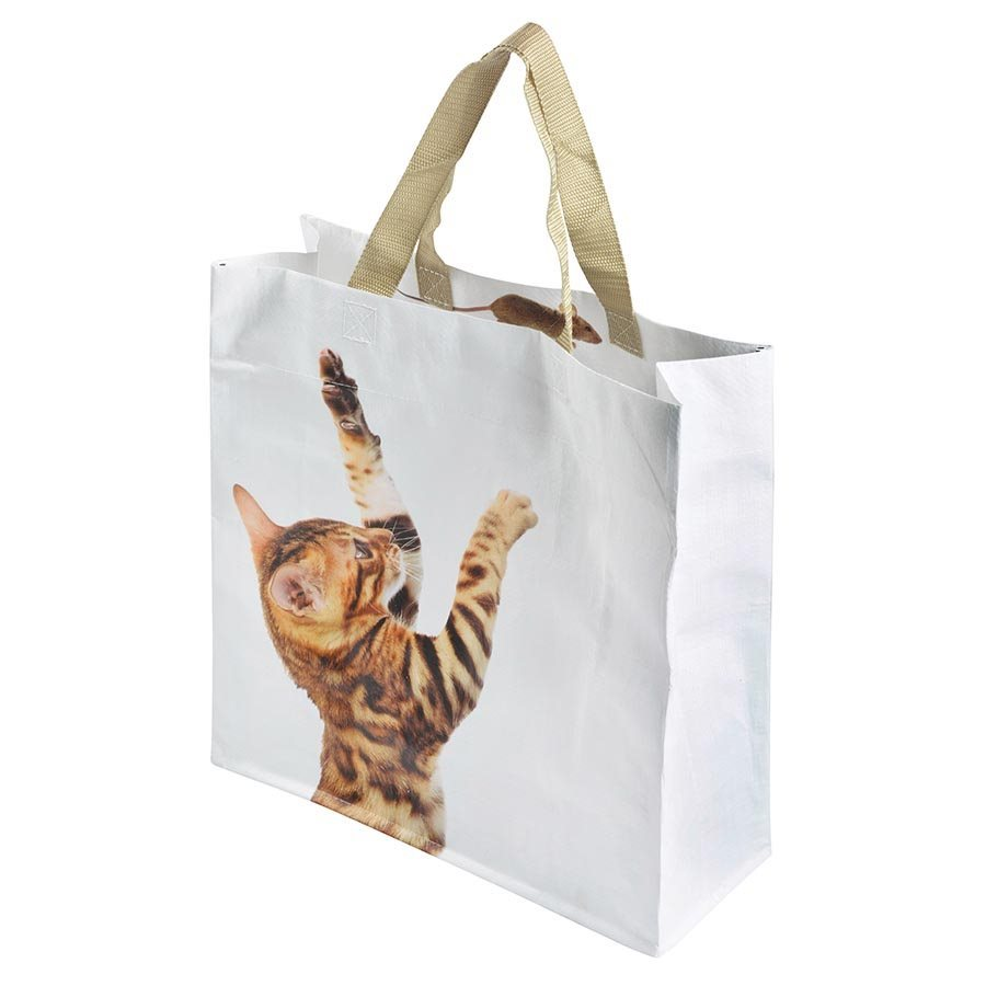IS Gift: Animal Shopping Bag - Cat & Mouse