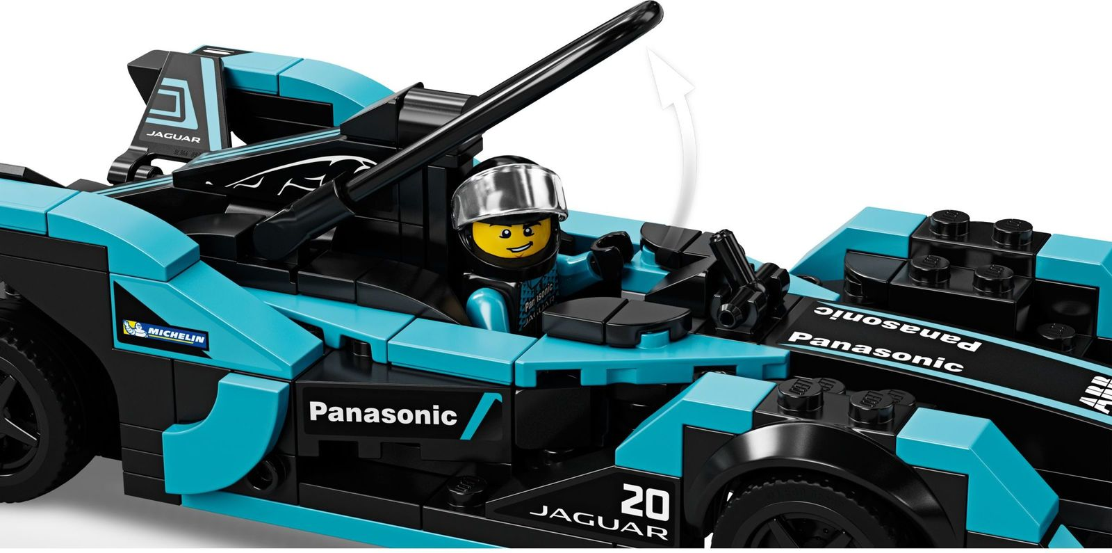 LEGO Speed Champions: Formula E Panasonic Jaguar Racing GEN2 car & Jaguar I-PACE eTROPHY - (76898)