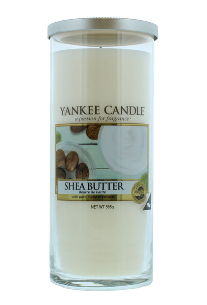 Yankee Candle: Large Pillar Candle - Shea Butter