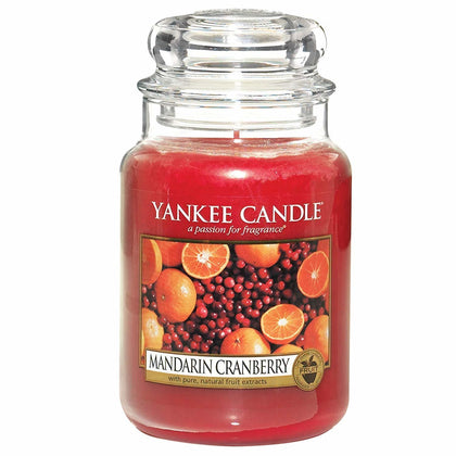 Yankee Candle: Large Jar - Mandarin Cranberry
