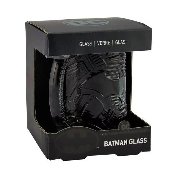 Batman Shaped Glass