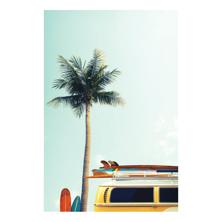 Habitat 101: Beach Day Canvas (80x120cm)