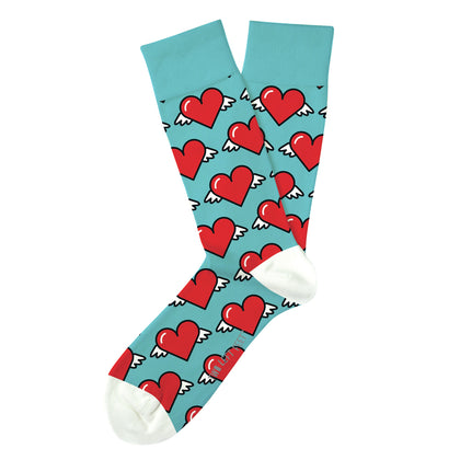 Two Left Feet: Love is in the Air Everyday Socks - Big