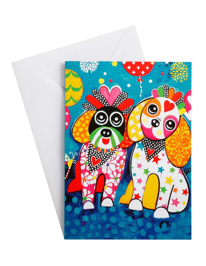 Maxwell & Williams: Love Hearts Greeting Card - Oodles Of Love