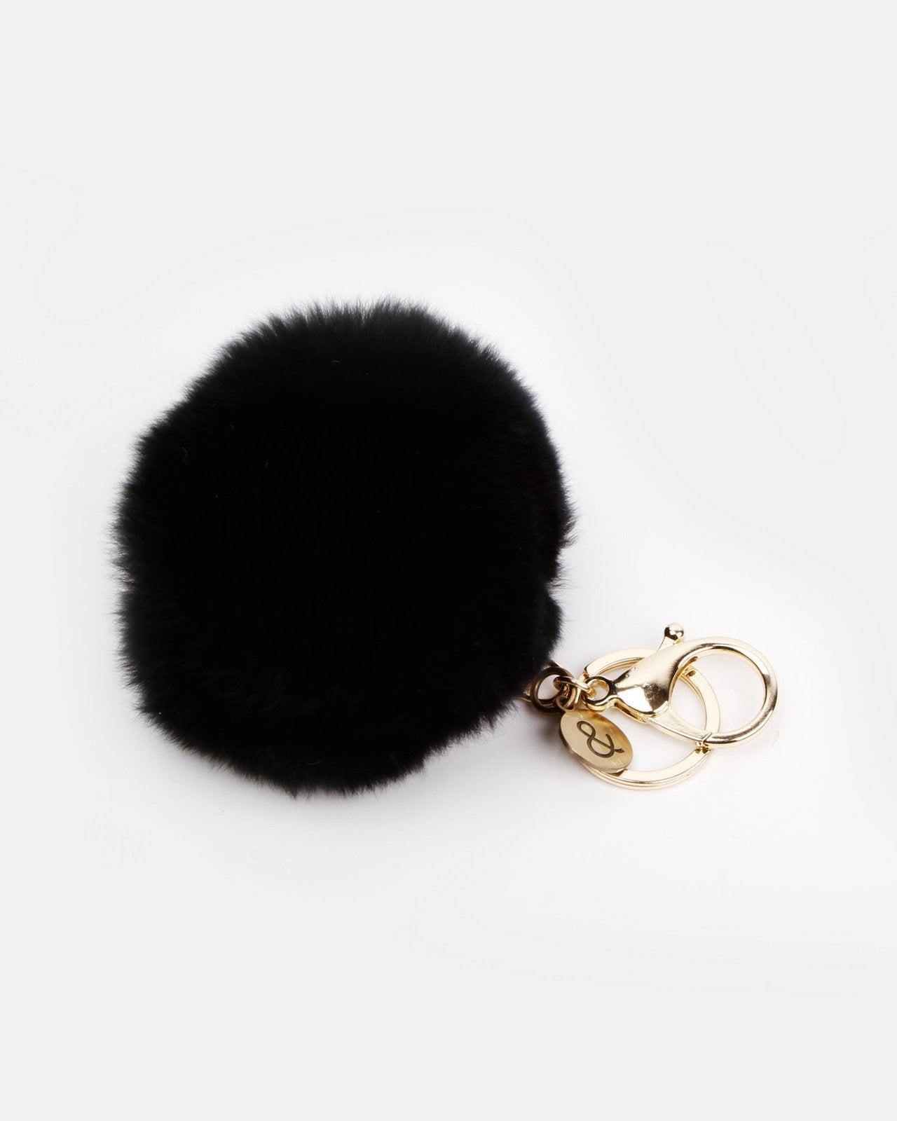 Belle and Bloom: Penelope Gift Pack + Fur Keychain - Black