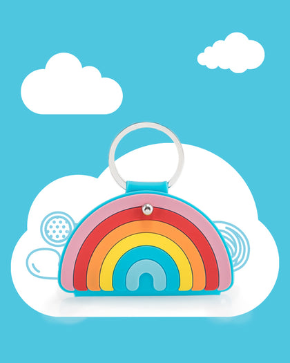 Mustard: Rainbow Keyring & Cable Tidy