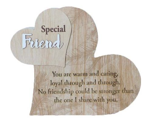 Mt Meru: Special Friend Heart Plaque