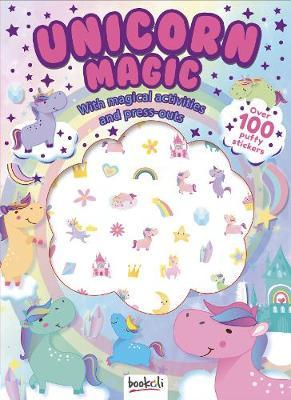 Unicorn Magic - Puffy Sticker & Activity Book
