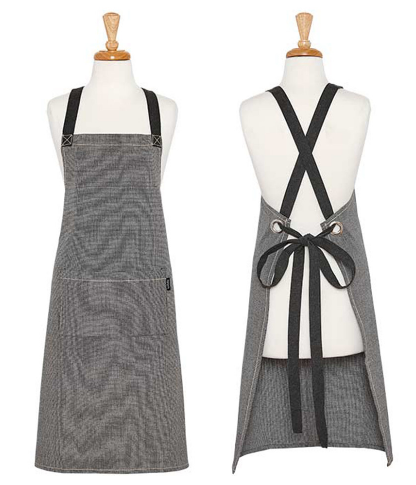 Ladelle: Eco Recycled Apron - Charcoal