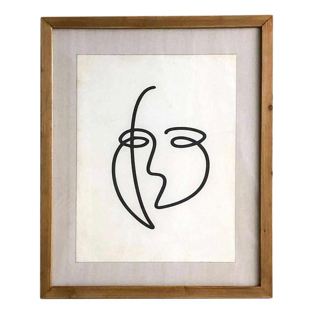 Framed Faces Prints