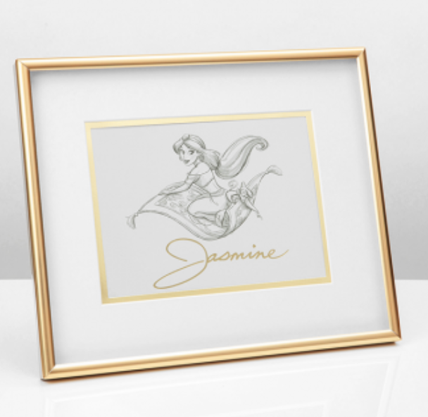 Disney Collectible Framed Print: Jasmine