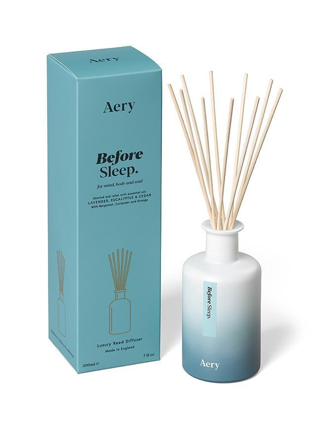 Aromatherapy 200ml Reed Diffuser - Before Sleep (Lavender Eucalyptus Cedar)