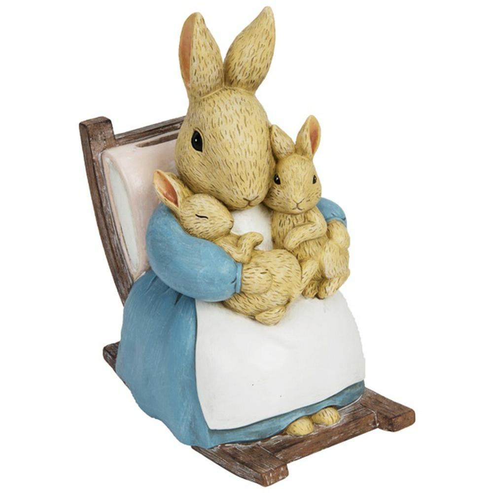 Beatrix Potter: Moneybox - Mrs Rabbit Figure