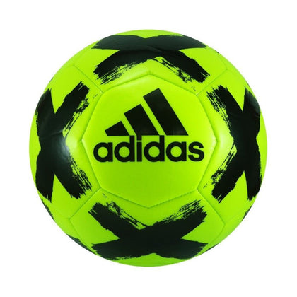 Adidas: Starlancer Solar Football Soccer Ball - Yellow/Black (Size 5)