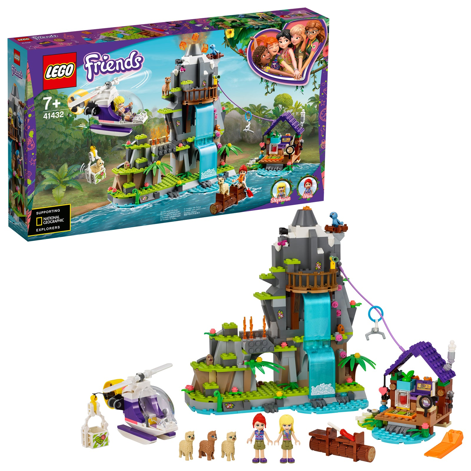 LEGO Friends: Alpaca Mountain Jungle Rescue - (41432)