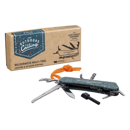 Gentlemen's Hardware: Wilderness Multi-Tool