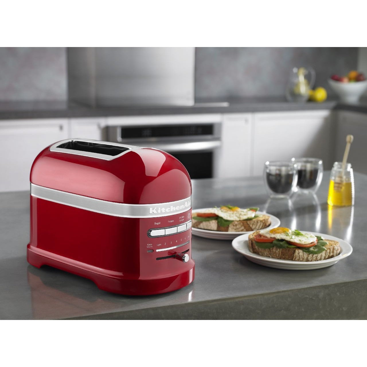 KitchenAid: Proline 2 Slice Toaster - Candy Apple