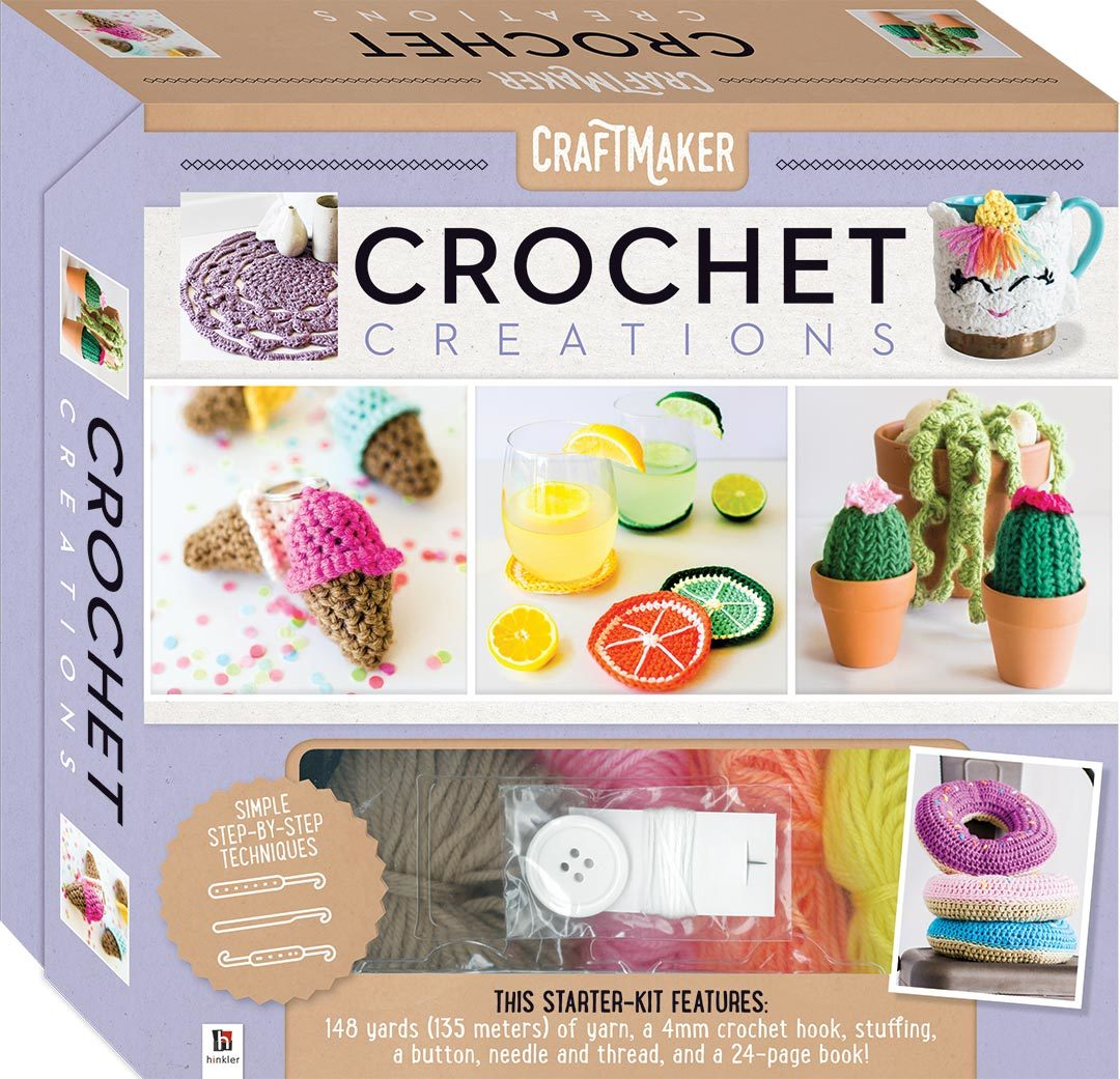 Craftmaker: Crochet Creations - Deluxe Box Set
