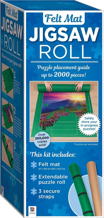 Hinkler: Jigsaw Felt Roll - 2020 Edition (Fits up to 2,000pcs)