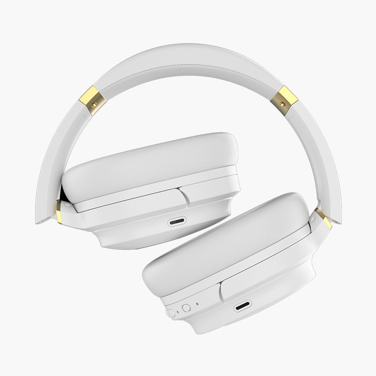 Cowin: SE7 Max Active Noise Cancelling - Wireless Bluetooth Headphones (White)