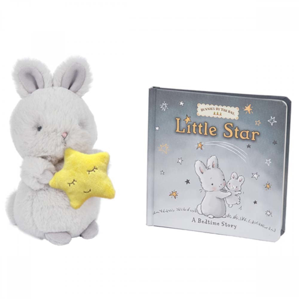 Bunnies By The Bay: Cricket Island Little Star Book & Bloom Plush Gift Set
