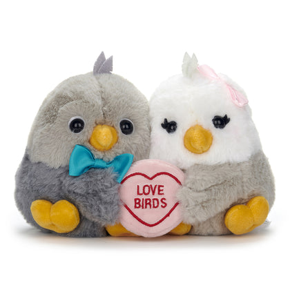 Love Hearts: Bird Couple Love Birds