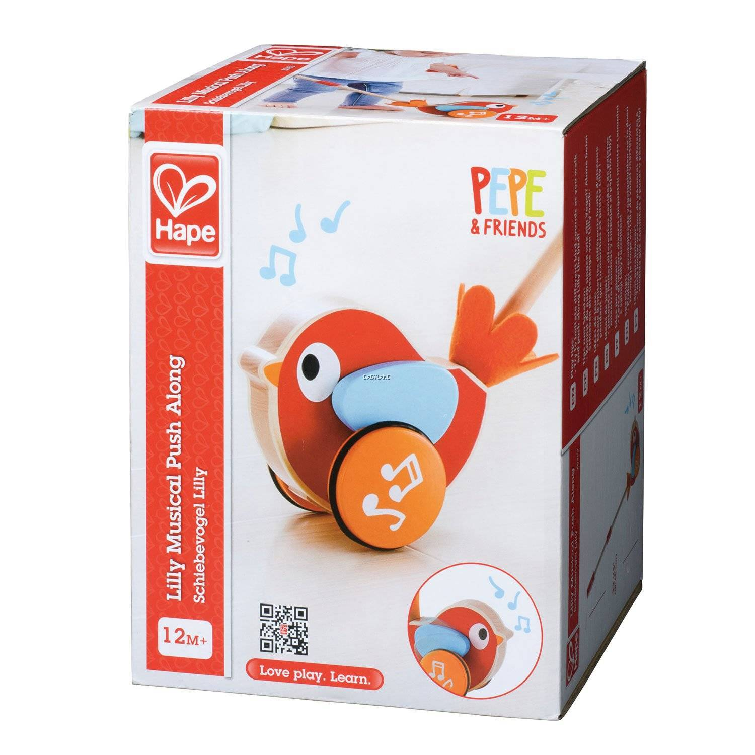 Hape: Lilly Musical Push Along