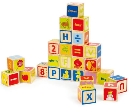 Hape: ABC Blocks