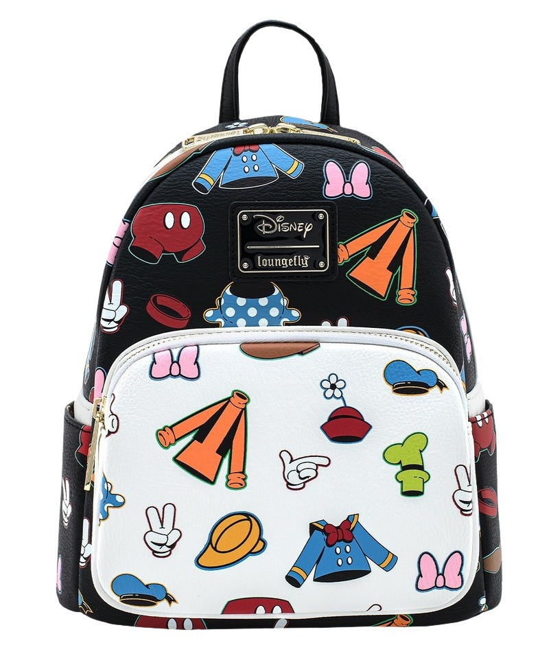 Loungefly: Disney - AOP Outfits Mini Backpack