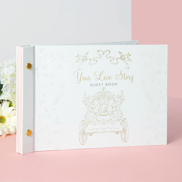 Wedding Album: Cinderella & Prince Guest Book