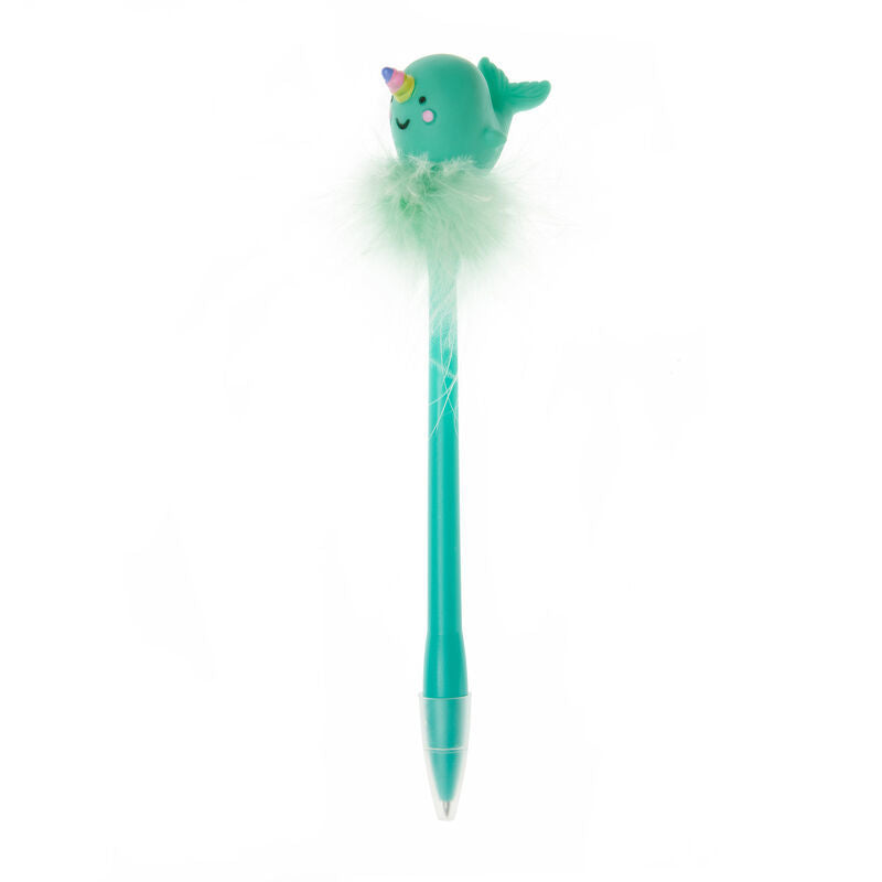 Legami: Writing Is Magic - Pen With Narwhal Light
