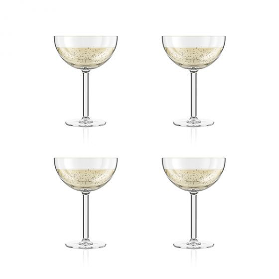 Bodum: Oktett Durable Champagne Coupe Glass - 4 Piece