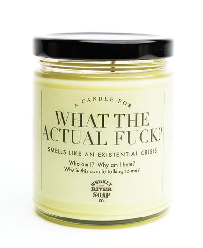 Whiskey River Co: What the Actual F**k Candle