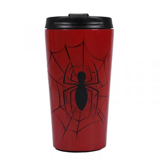 Marvel: Spiderman Metal Travel Mug - Spidey Senses