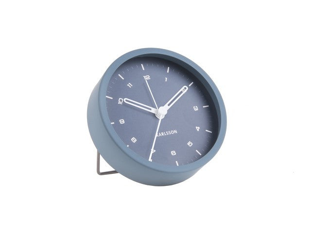 Karlsson Alarm Clock - Tinge (Blue)