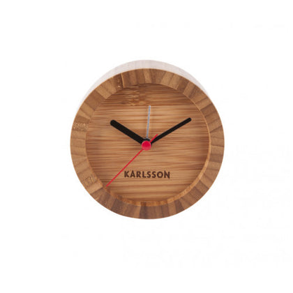 Karlsson Alarm Clock - Tom (Wood)