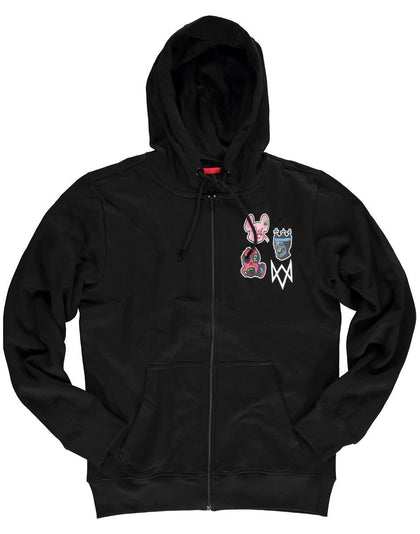 Difuzed: Watch Dogs: Legion Men's Zipper Hoodie - L