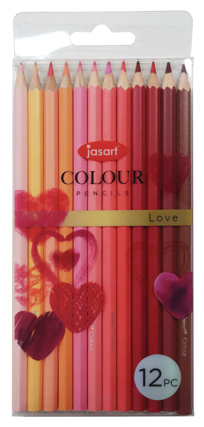Jasart: Studio Pencil Set - Love (12pc)