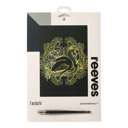 Reeves: Scraperfoil - Flamingo (Gold)