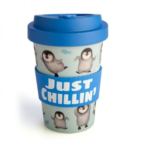 Eco-to-Go Bamboo Cup - Penguin