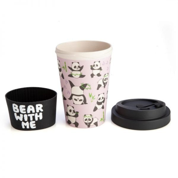 Eco-to-Go Bamboo Cup - Panda