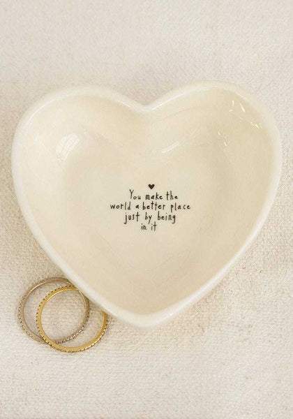 Natural Life: Heart Trinket Box - I Love You