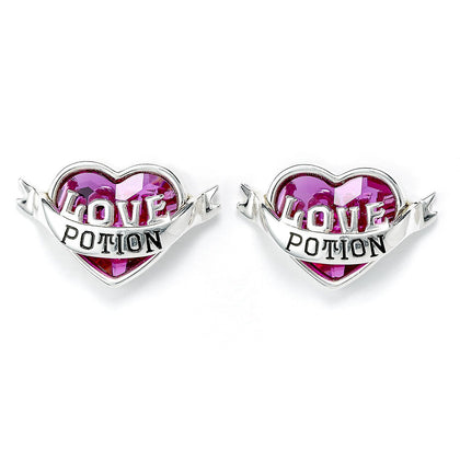 The Carat Shop: Harry Potter Love Potion Stud Earrings Embellished with Swarovski Crystals