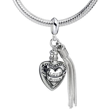 The Carat Shop: Harry Potter Love Potion Slider Charm in Sterling Silver