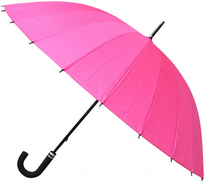 LaVida: Floral When Wet Umbrella - Pink
