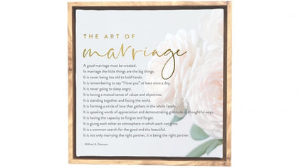 Splosh: Marriage Framed Canvas