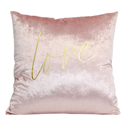 Splosh: Dusk Pink Love Cushion