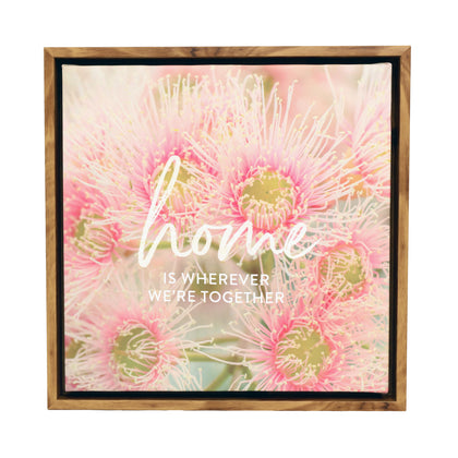 Splosh: Flourish Home Framed Canvas