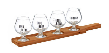Davis & Waddell: Beer Connoisseur Tasting Paddle Set